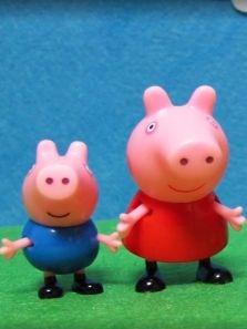 (宝贝玩具)粉红猪的故事